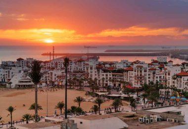 La ciudad moderna de Agadir