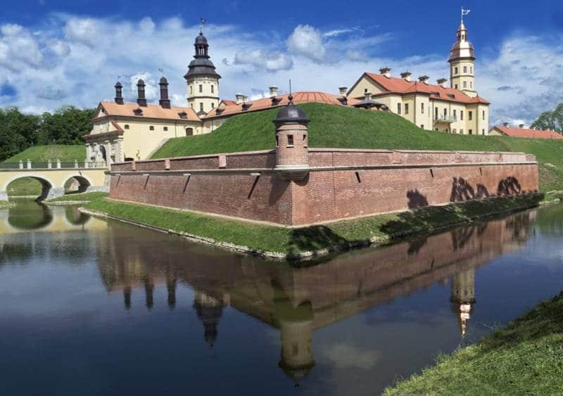 Que ver en Minsk Castillo de Nesvizh