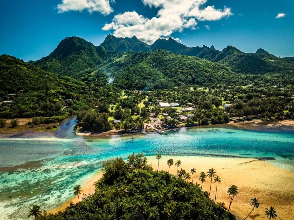 Viajar a Nueva Zelanda Isla Cook