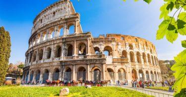Viaje a Roma Coliseo