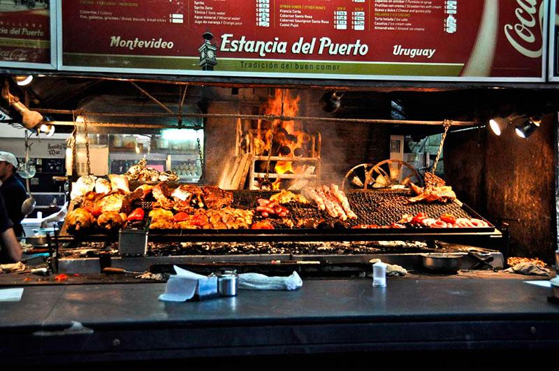 Montevideo Asado en el mercado
