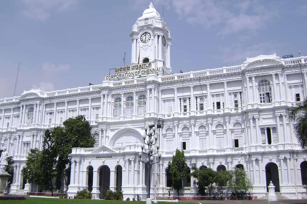 Fuerte San Jorge en Chennai