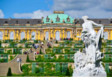 Palacio Sanssouci en Postdam