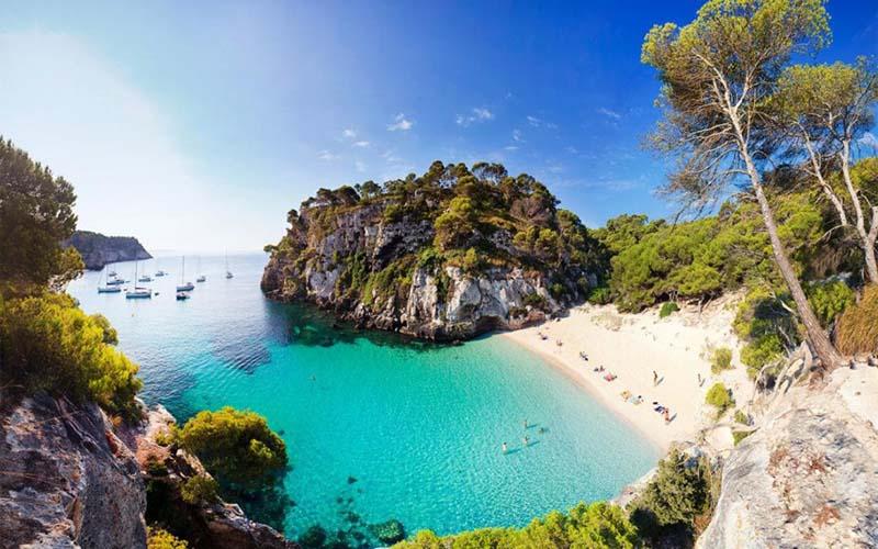 Que ver en Menorca Playa paradisiaca